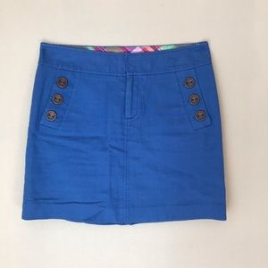 Lilly Pulitzer Blue Cotton Skirt, 2